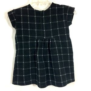 Zara Girls Dress Soft Collection Sz 6 Black White